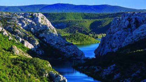 Krka National Park river canyon