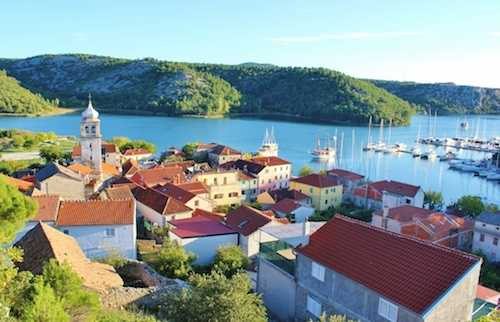 split to zadar private transfer with Krka National Park