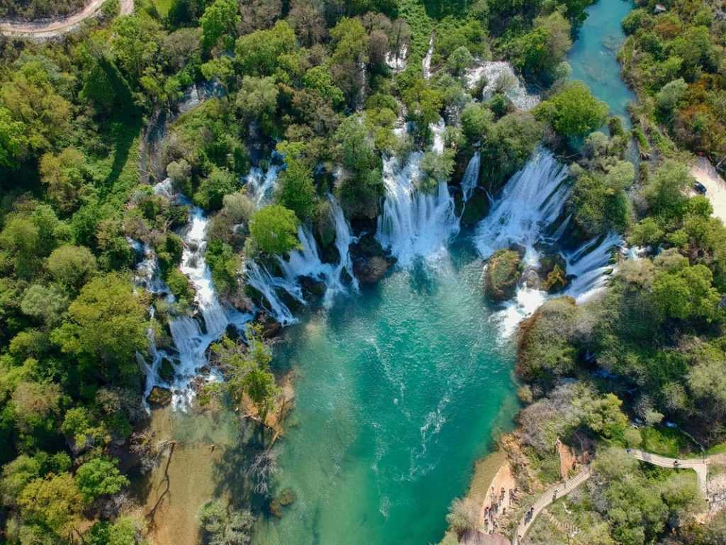 Mostar private tour and kravice waterfalls from split