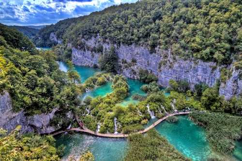 Plitvice Lakes Private Tour with local driver-guide