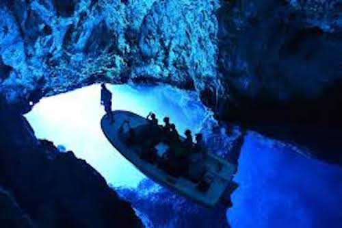 blue cave private tour - boat trip from split