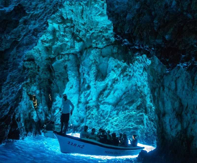 blue cave private tour from split
