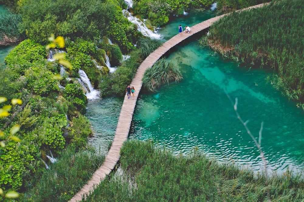 Full-day guided Plitvice Lakes Private Tour full-day guided