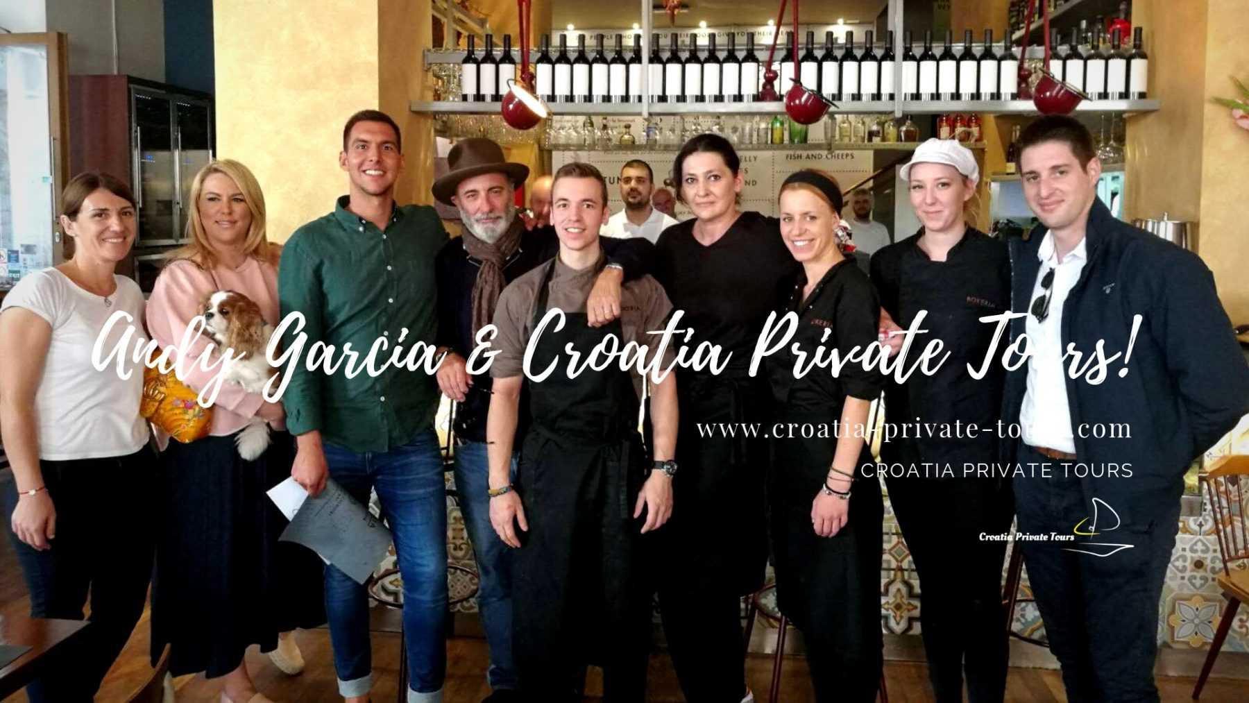 croatia private tours - andy garcia