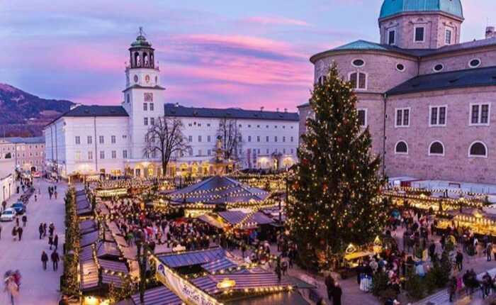 best european Christmas tour - salzburg