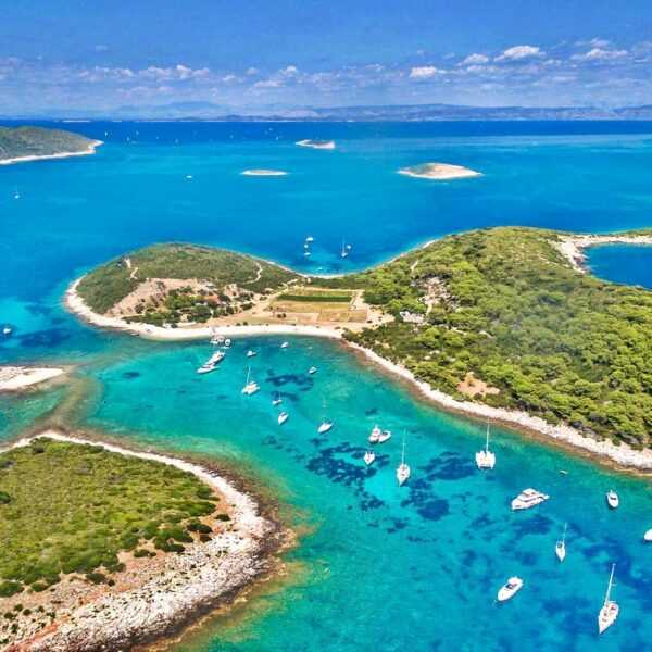Split to Blue Lagoon Boat Tour & Trogir Town | Croatia Private Tours