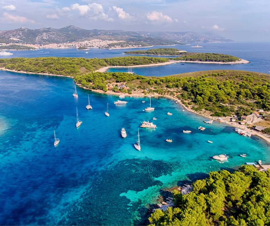 croatia private tours - pakleni islands