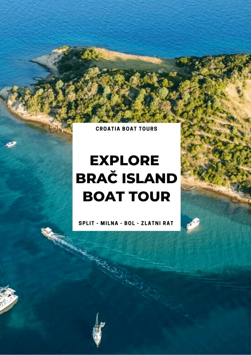 Brač Island Private Tour & Zlatni Rat Beach | Croatia Private Tours