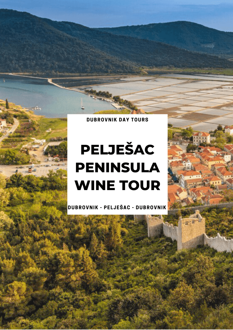 Pelješac Wine Tour from Dubrovnik ꟾ Croatia Private Tours