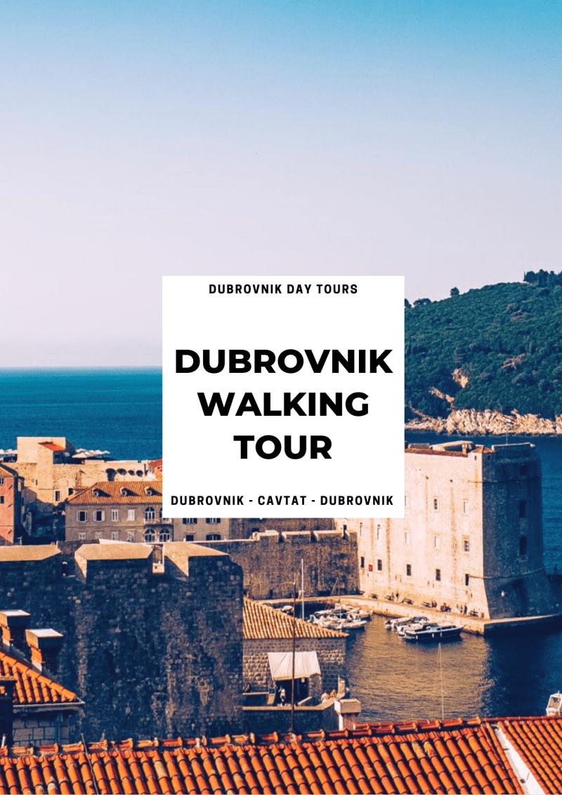 croatia private tours - dubrovnik private walking tour