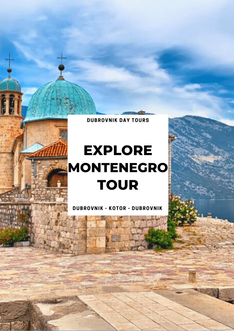 croatia private tours - private montenegro tour from dubrovnik