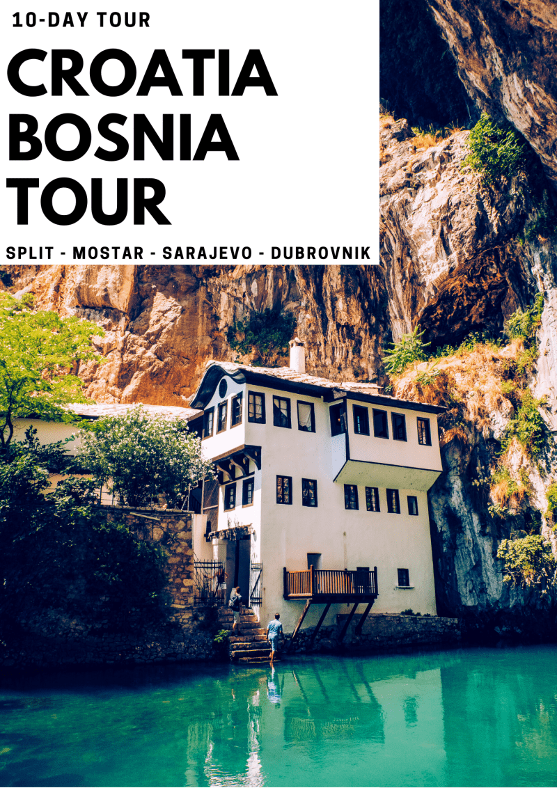 croatia private tours - croatia bosnia tours