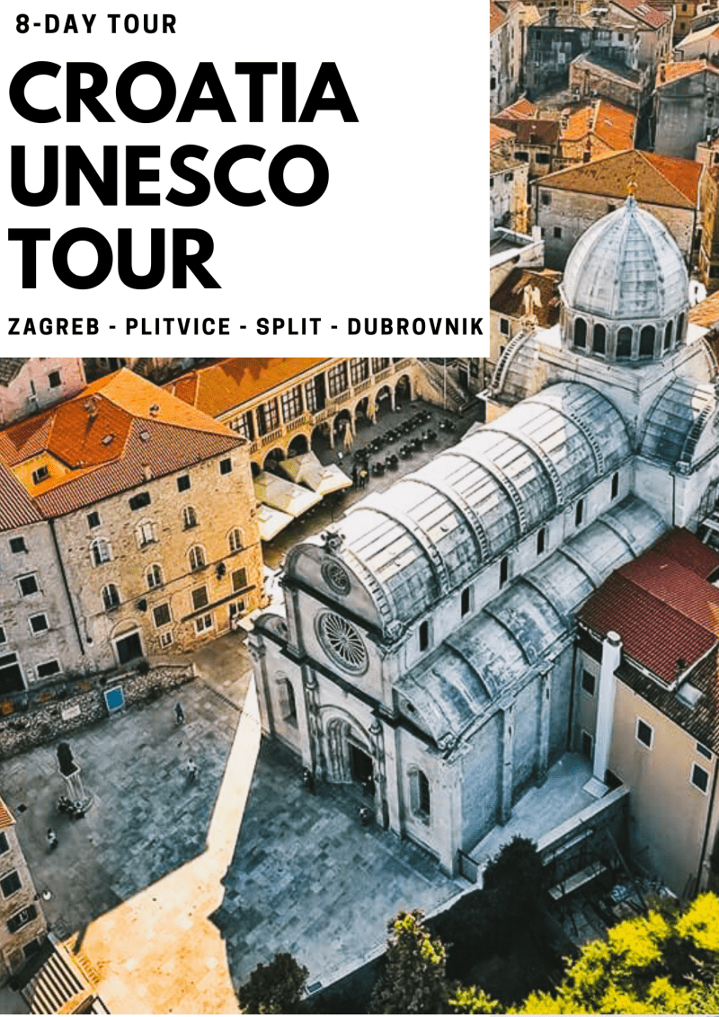 croatia private tours - croatia uneso tour