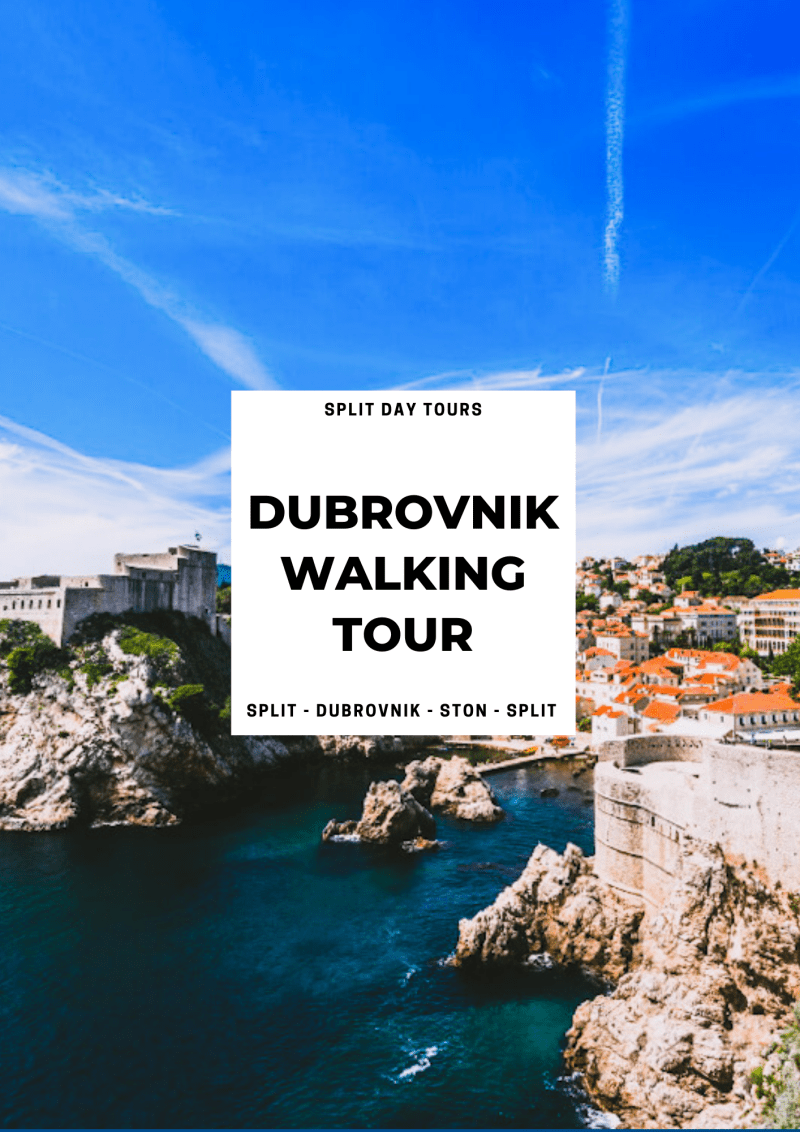 Dubrovnik Private Tour from Split ꟾ Croatia Private Tours