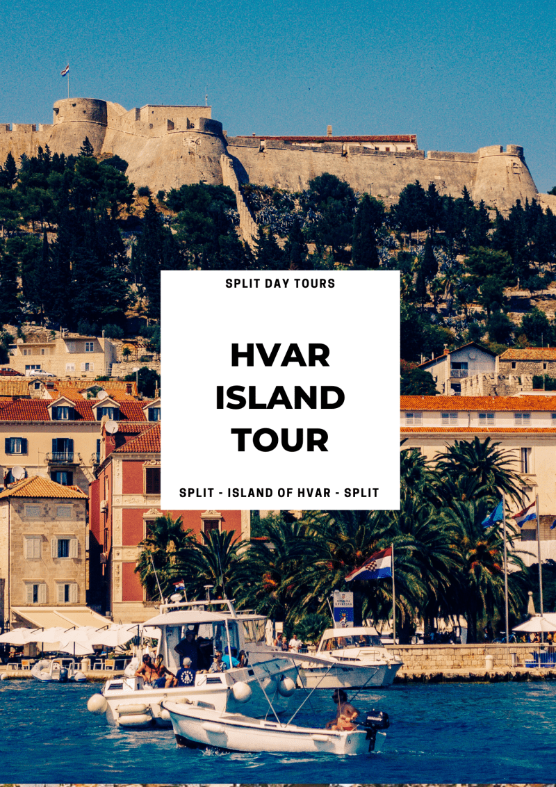 Split to Hvar Day Trip from Split ꟾ Croatia Private Tours