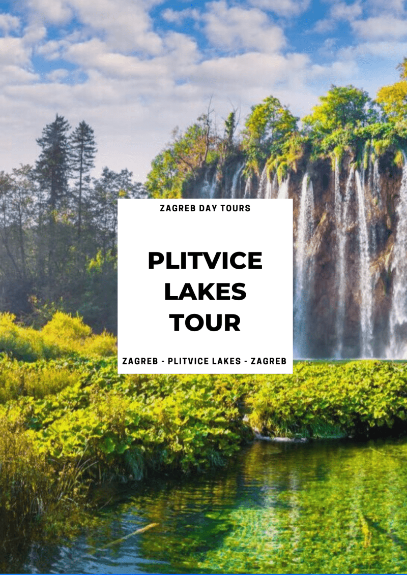 zagreb to plitvice lakes private tour