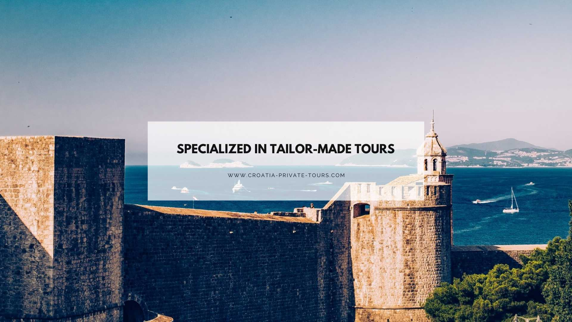 croatia private tours - your tour specialist for croatia