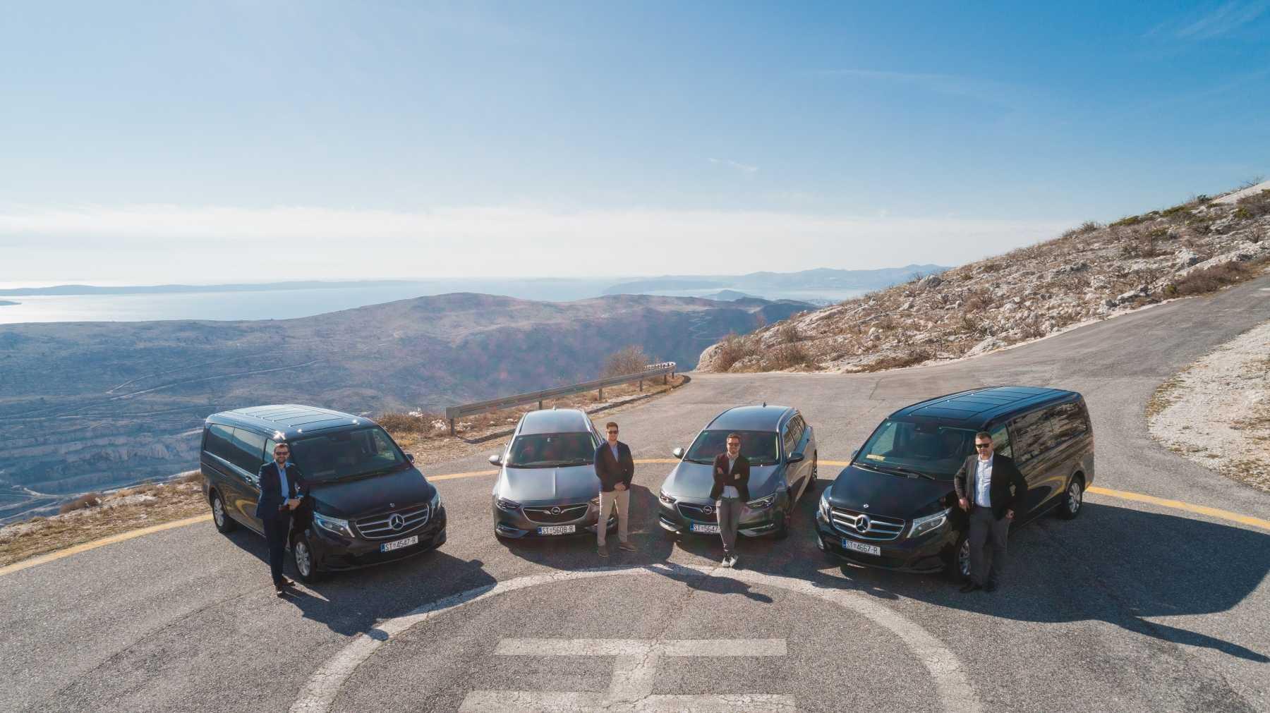 croatia private tours - english speaking professional drivers