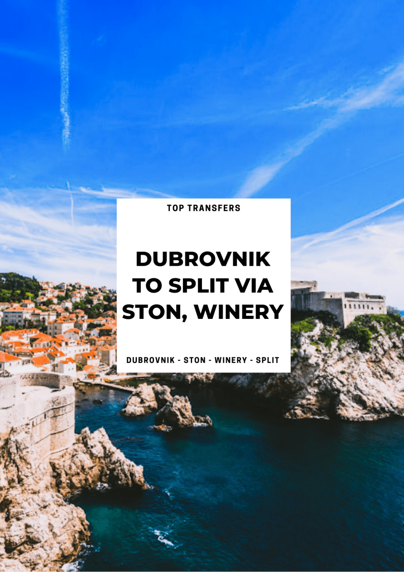 From Dubrovnik to Split via Ston in One Day | Croatia Private Tours